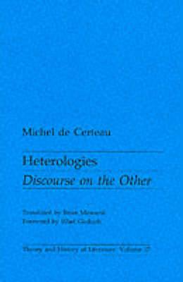Heterologies by Michel de Certeau