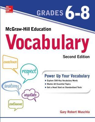 McGraw-Hill Education Mastering Vocabulary by Gary Robert Muschla