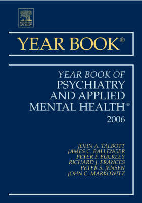 Year Book of Psychiatry and Applied Mental Health by John A. Talbott