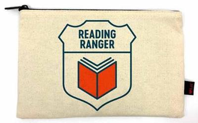 Reading Ranger Pencil Pouch by Gibbs Smith Publisher
