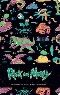Rick and Morty Hardcover Ruled Journal by Insight Editions