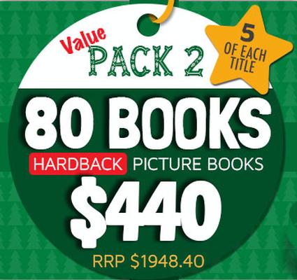 Value Pack 2 - 80 Hardback Picture Books by Various