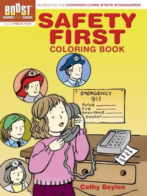 BOOST Safety First Coloring Book by Cathy Beylon