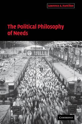 Political Philosophy of Needs book