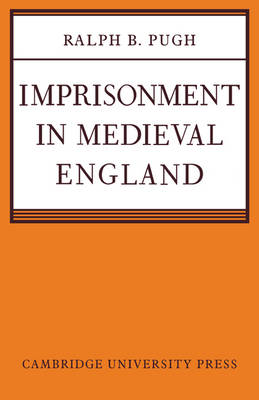 Imprisonment in Medieval England book