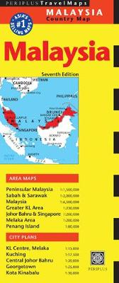 Malaysia Travel Map by Periplus Editions