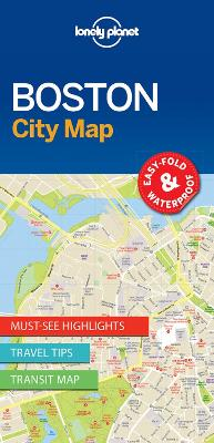 Lonely Planet Boston City Map by Lonely Planet