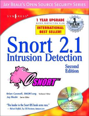Snort 2.1 Intrusion Detection by Brian Caswell