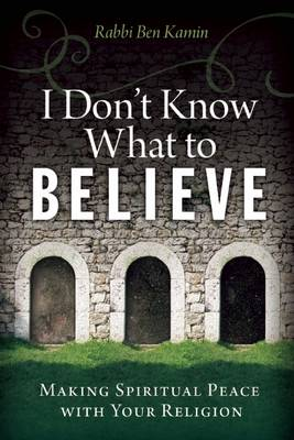 I Don't Know What to Believe by Rabbi Ben Kamin