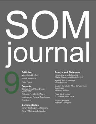 SOM Journal 9 by Kenneth Frampton