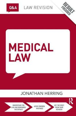 Q&A Medical Law by Jonathan Herring