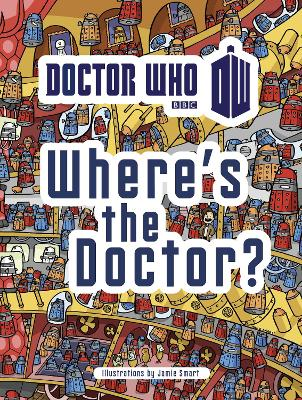 Doctor Who: Where's the Doctor? book