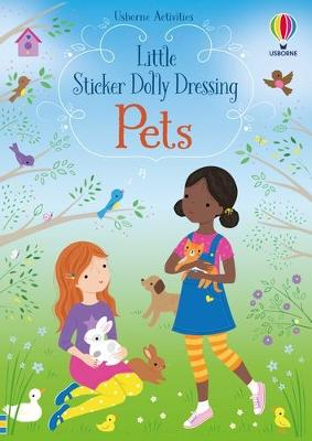 Little Sticker Dolly Dressing Pets book