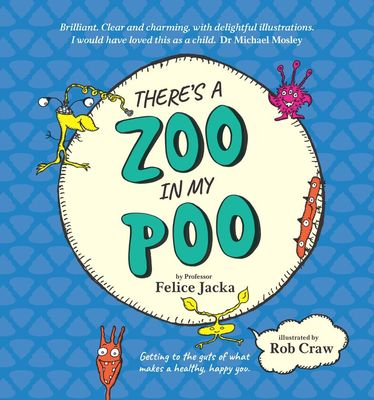 There's a Zoo in My Poo book