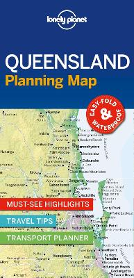 Lonely Planet Queensland Planning Map by Lonely Planet