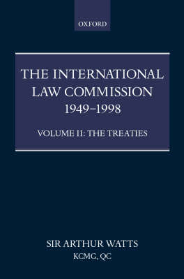 International Law Commission 1949-1998: Volume Two: The Treaties part ii book