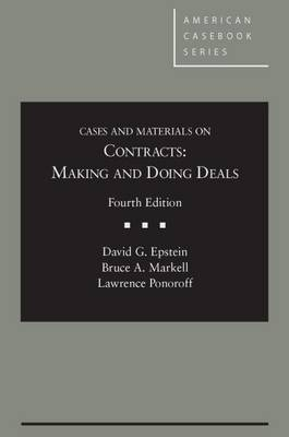 Cases and Materials on Contracts by David Epstein
