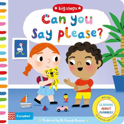 Can You Say Please?: Learning About Manners book