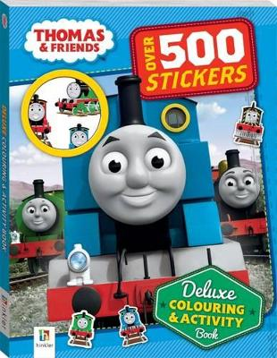 Thomas and Friends Deluxe Colouring and Activity Book by