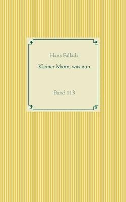 Kleiner Mann, was nun: Band 113 by Hans Fallada