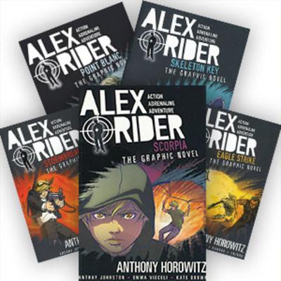 Alex Rider The Graphic Novel - Set of 5 by Anthony Horowitz