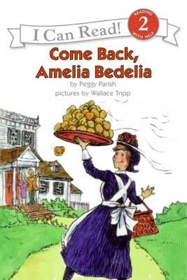 Come Back Amelia Bedelia book