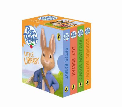 Peter Rabbit Animation: Little Library by Beatrix Potter