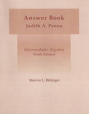 Intermediate Algebra (Hardcover) by Marvin L. Bittinger