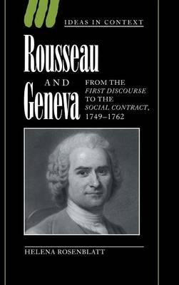 Rousseau and Geneva by Helena Rosenblatt