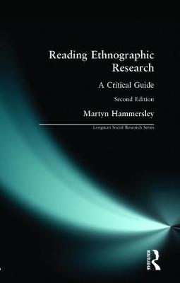 Reading Ethnographic Research by Martyn Hammersley