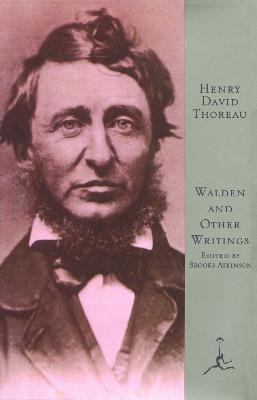 Mod Lib Walden & Other Writings by Henry David Thoreau