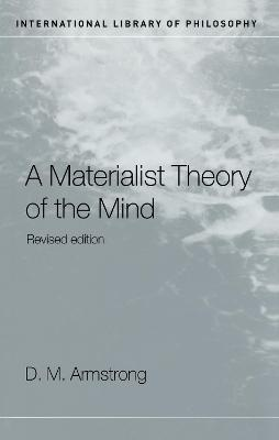 Materialist Theory of the Mind book