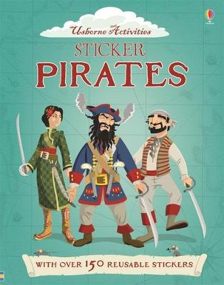 Sticker Dressing Pirates by Louie Stowell