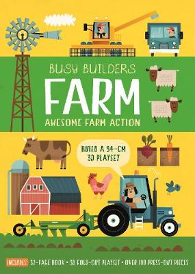 Busy Builders: Farm by Timothy Knapman