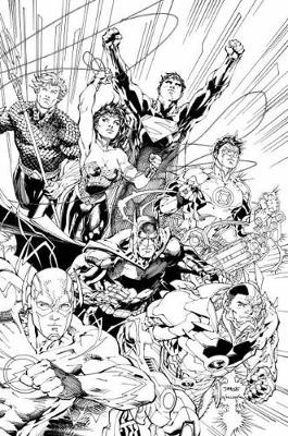 Justice League An Adult Coloring Book by Various