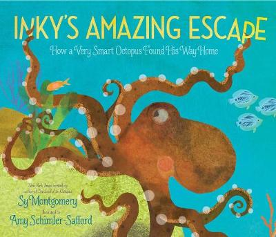 Inky's Amazing Escape: How a Very Smart Octopus Found His Way Home book