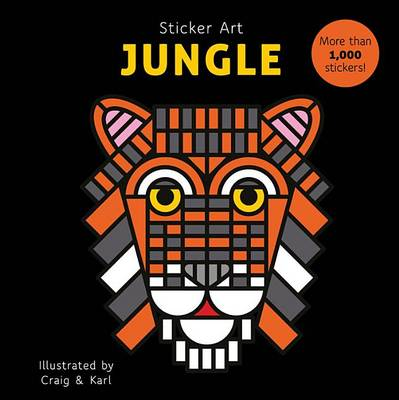Sticker Art Jungle by Craig & Karl