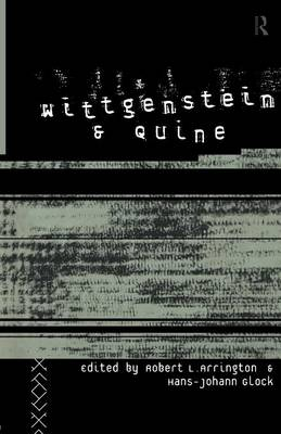 Wittgenstein and Quine book