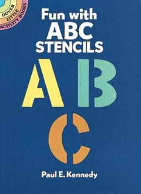 Fun with ABC Stencils book