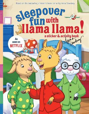 Sleepover Fun with Llama Llama: A Sticker & Activity Book by Penguin Young Readers Licenses