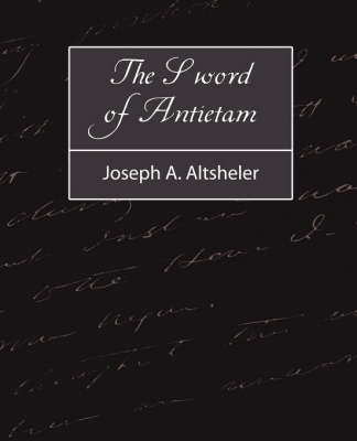 Sword of Antietam by Joseph a Altsheler