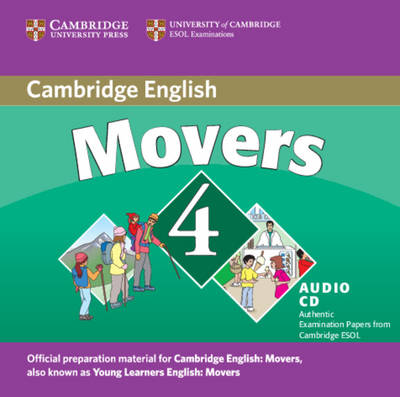 Cambridge Young Learners English Tests Movers 4 Audio CD book