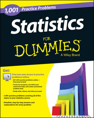 1,001 Statistics Practice Problems for Dummies by Consumer Dummies