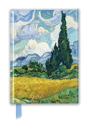 Van Gogh: Wheat Field with Cypresses (Foiled Journal) by Flame Tree Studio