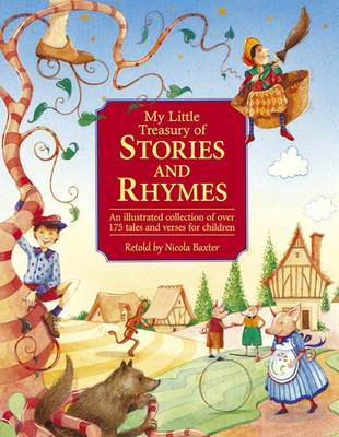 My Little Treasury of Stories and Rhymes book