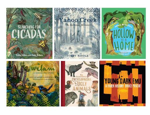 Eve Pownall Award - Set of 6 - CBCA Short List 2020 by null