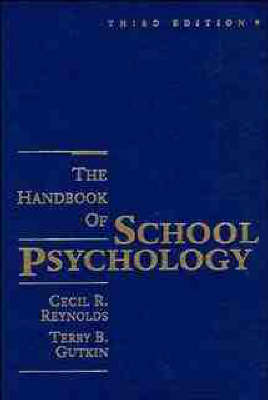 Handbook of School Psychology by Cecil R. Reynolds