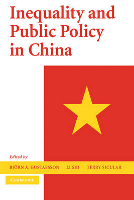 Inequality and Public Policy in China by Bjorn A. Gustafsson