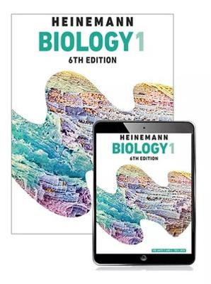 Heinemann Biology 1 Student Book with eBook + Assessment by Zoe Armstrong