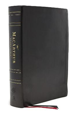 ESV, MacArthur Study Bible, 2nd Edition, Genuine leather, Black, Thumb Indexed: Unleashing God's Truth One Verse at a Time by John F. MacArthur